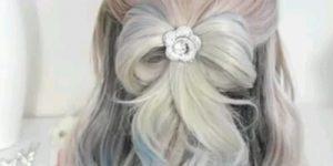 تسريحات شعر للعروس بالخطوات