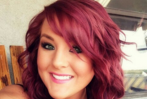 صبغة شعر احمر
