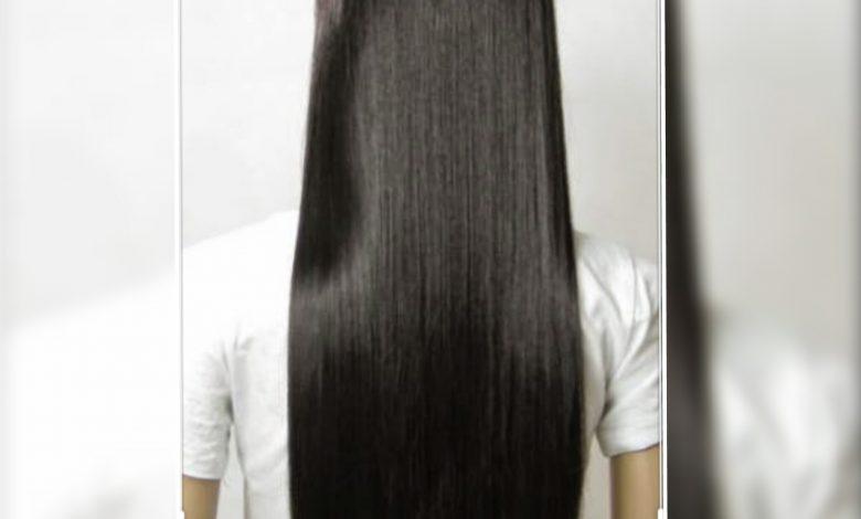 طريقة تمليس الشعر بالكرياتين