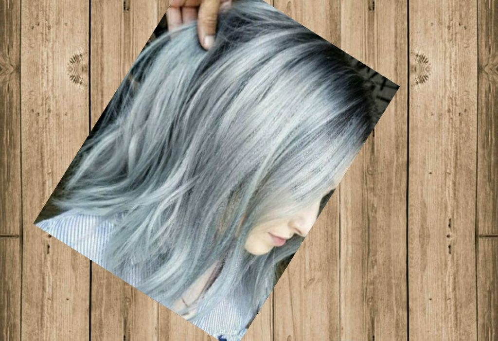 صبغ الشعر ألوان الأشقر الثلجي٥