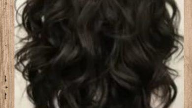 الصبغة السوداء من الشعر دون سحب لون 1