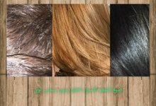 صبغ الشعر الاسود اشقر بدون سحب لون