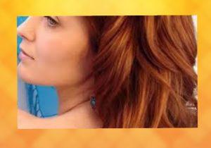 الشعر النحاسي الأشقر 1